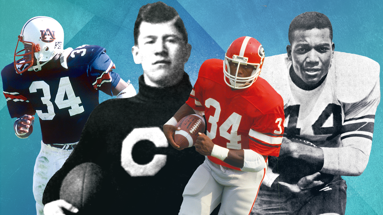 The 150 Greatest Players In College Football S 150 Year History
