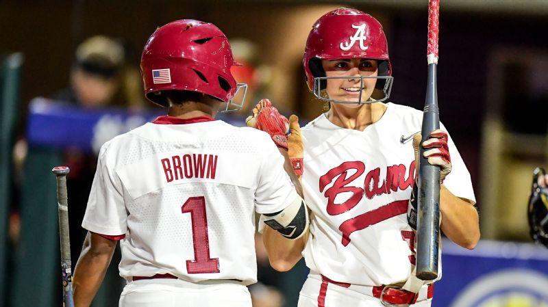 Alabama softball named preseason favorite for 2020