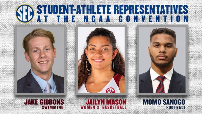 Student-athletes to represent SEC in NCAA voting