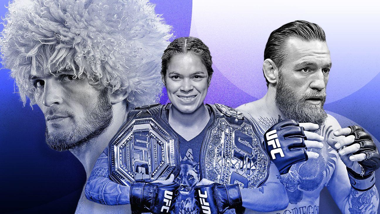 MMA Rank 1-10 – Quels combattants auront le meilleur 2020?