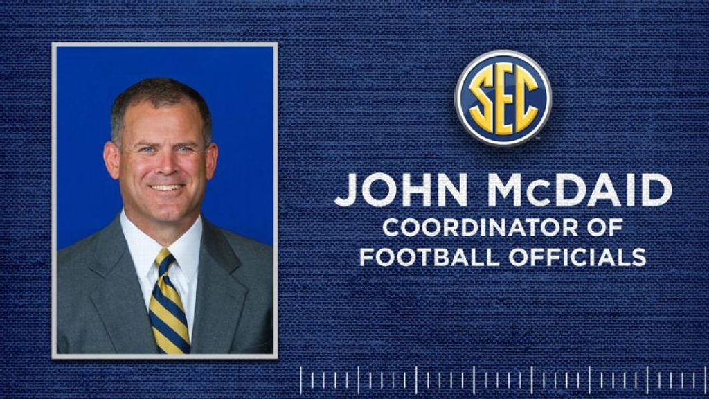McDaid to be new SEC Coordinator of Football Officials