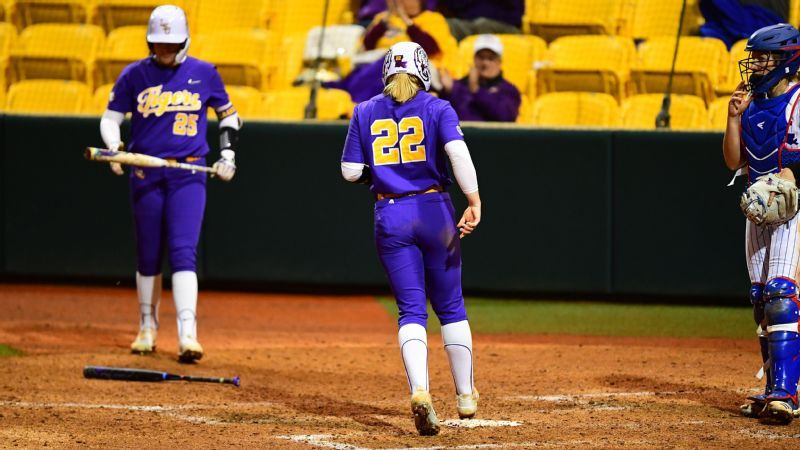 Offense shines in LSU's run-rule victory