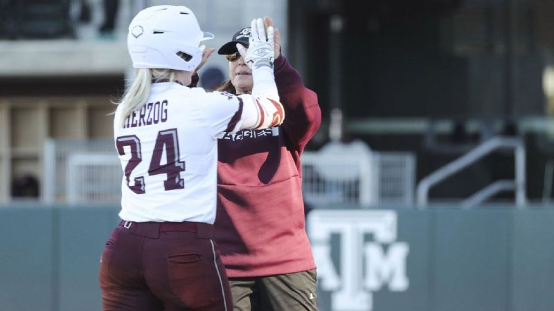 Aggies upset No. 5 Arizona, run-rule Bethune-Cookman