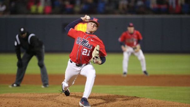 Rebels combine to throw first no-hitter since 1966