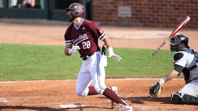 Explosive five-run inning results in Aggies victory