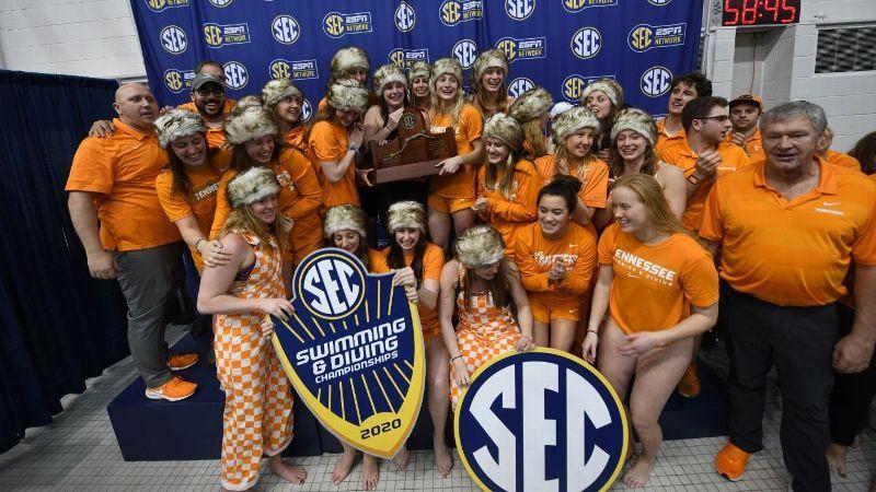 Gators, Lady Vols win 2020 SEC Championships