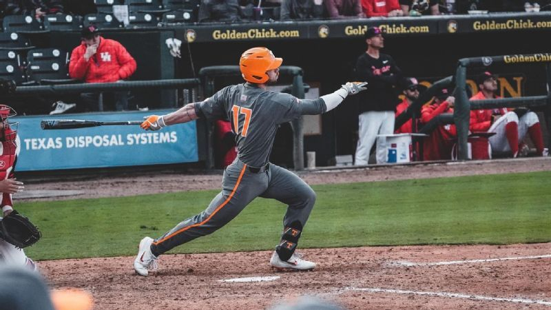 Vols upset Stanford as Cards commit five errors in loss