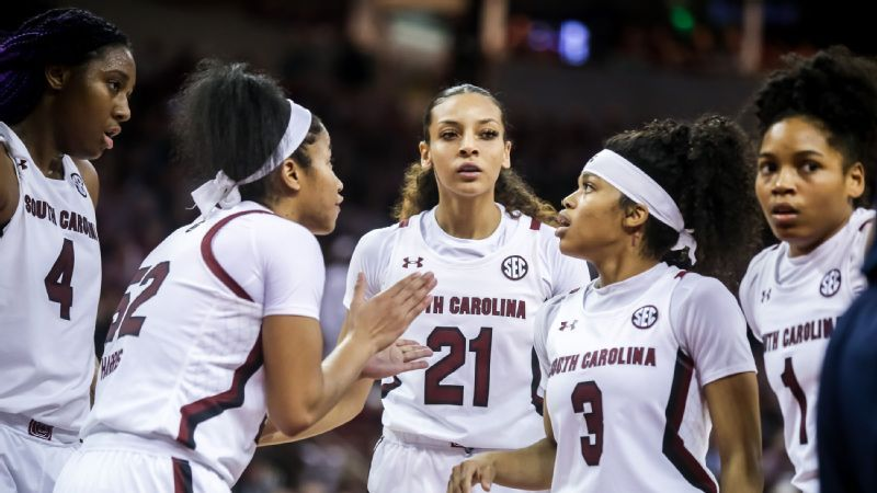 No. 1 Gamecocks' clinch regular season SEC title
