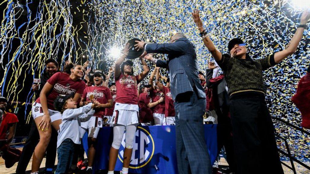 Media tabs South Carolina as 2021 SEC Champion