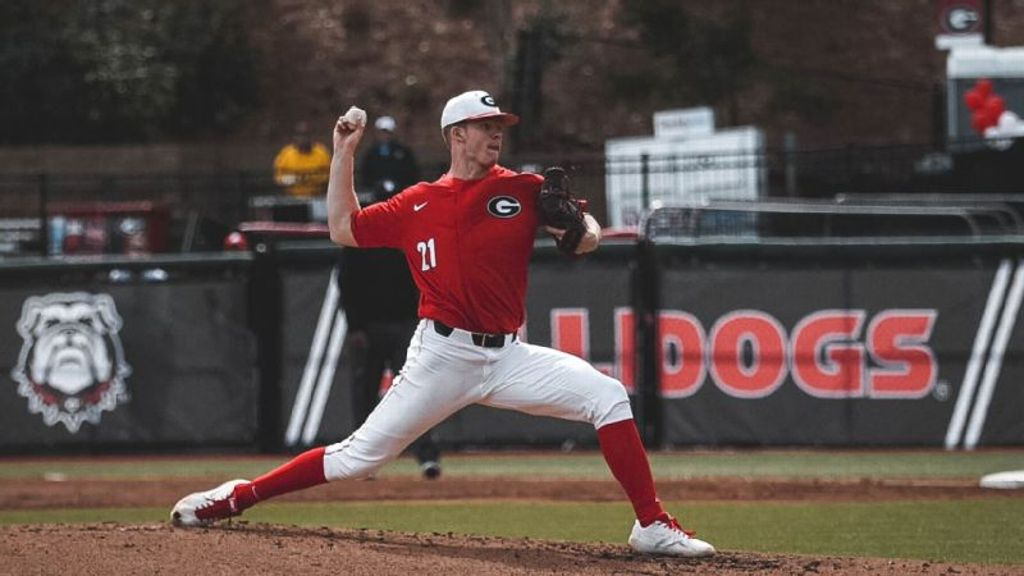 Georgia shuts out UMass, completes sweep