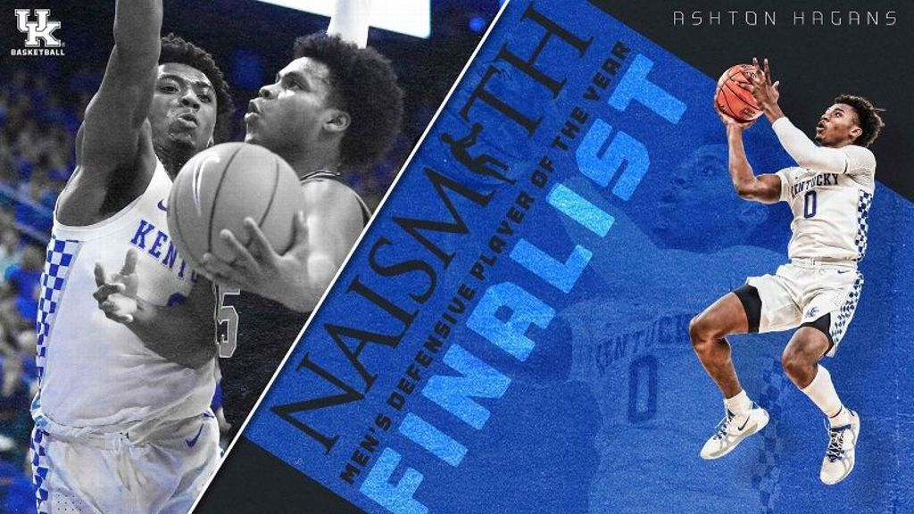 Hagans named a finalist for Naismith DPOY