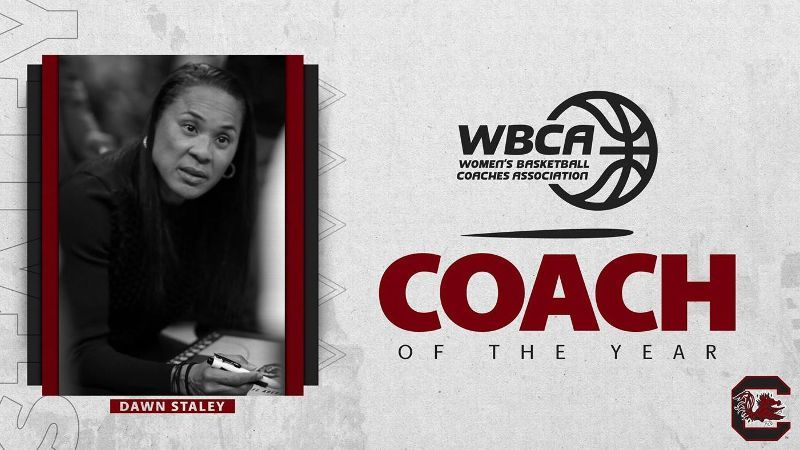 Staley honored as WBCA National Coach of the Year