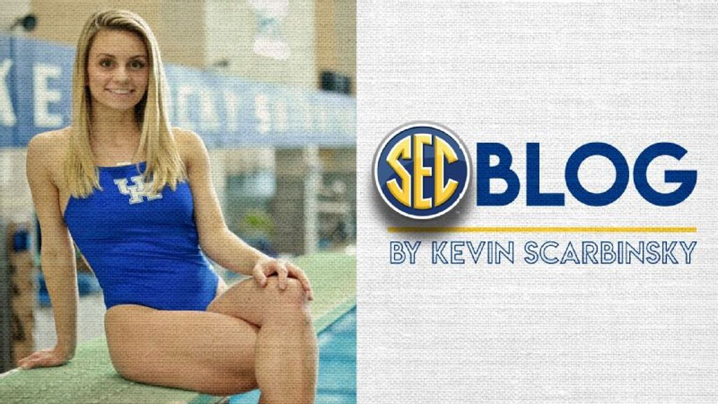 The SEC Blog: One last memorable dive for UK's Dellmore