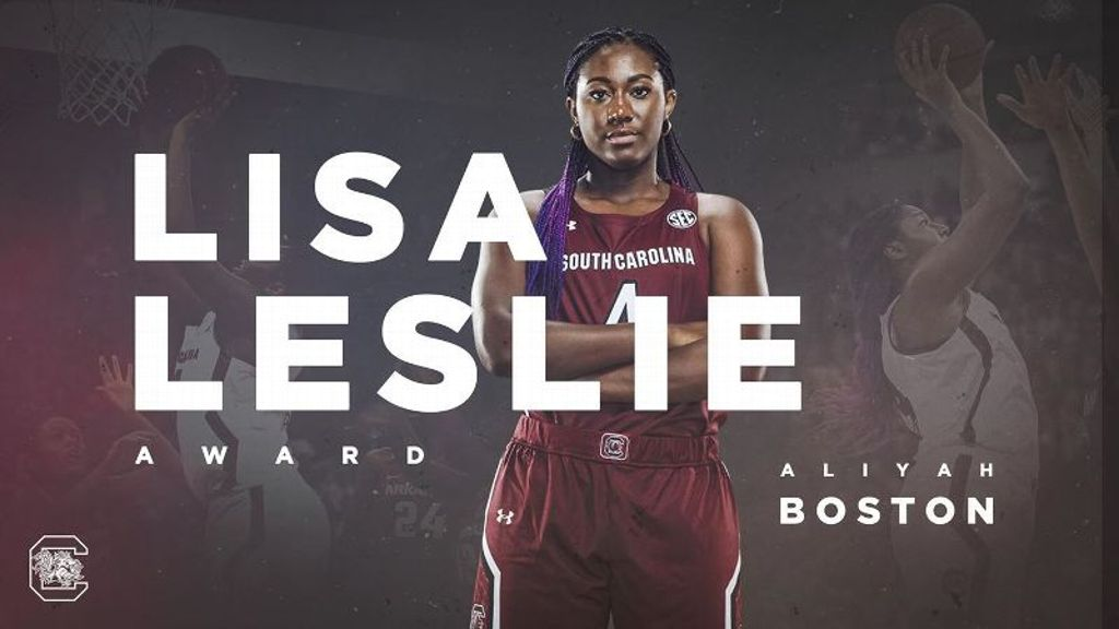 Boston wins Lisa Leslie Award
