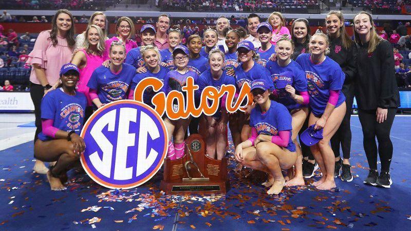 A look at the SEC's rich gymnastics history