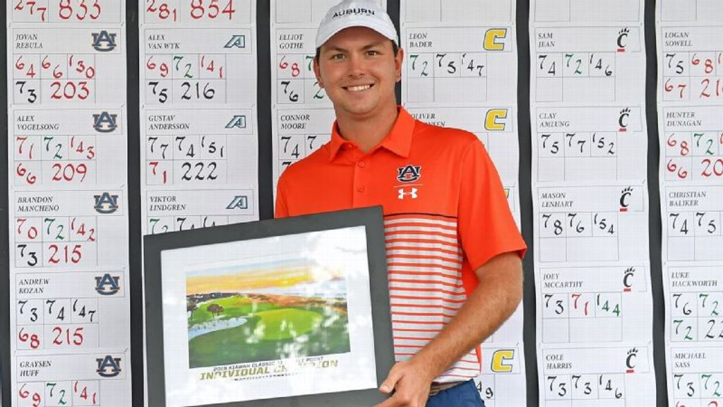 Rebula makes history for Auburn
