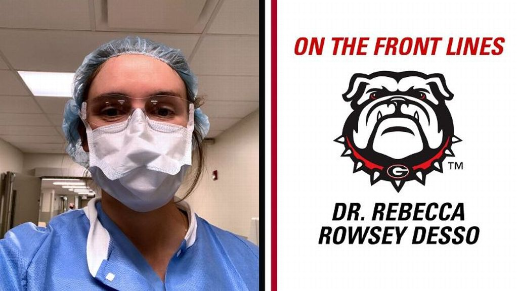 On the Front Lines: Dr. Rebecca Rowsey Desso