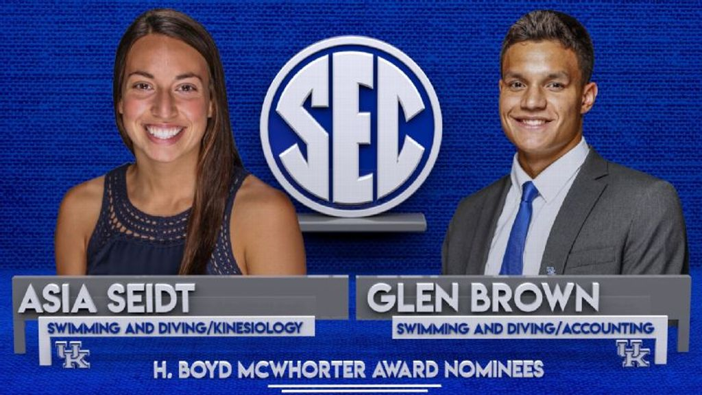 Kentucky's Brown, Seidt nominees for McWhorter award