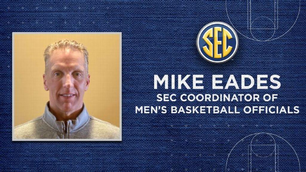 SEC names Eades men's basketball officials coordinator