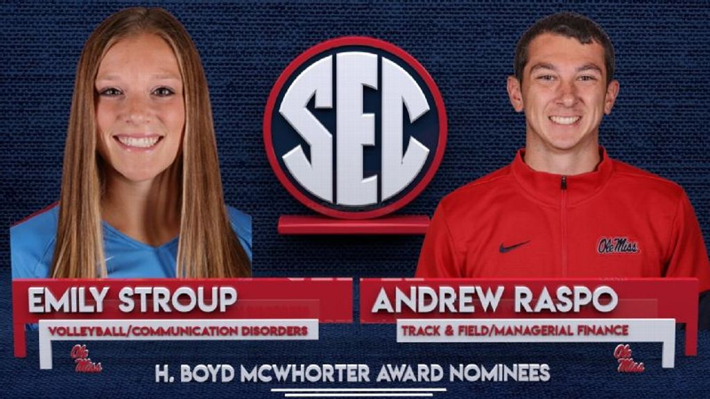 Raspo, Stroup nominees for McWhorter award