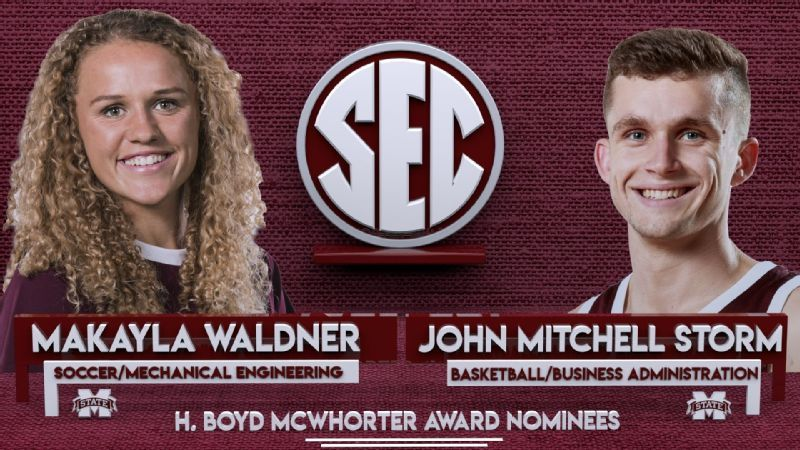Storm and Waldner nominated for McWhorter award