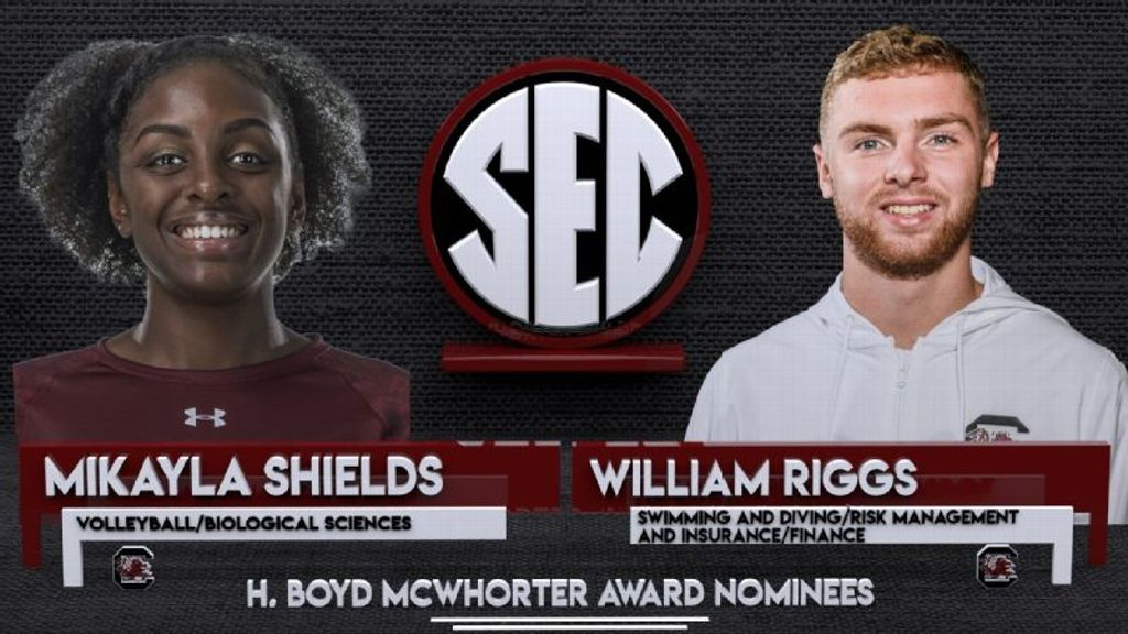 Riggs, Shields nominated for McWhorter award