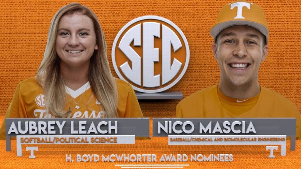 Mascia, Leach nominated for McWhorter award