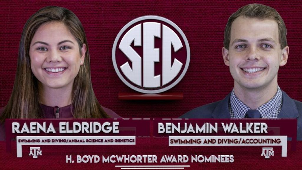 Walker, Eldridge nominated for McWhorter award