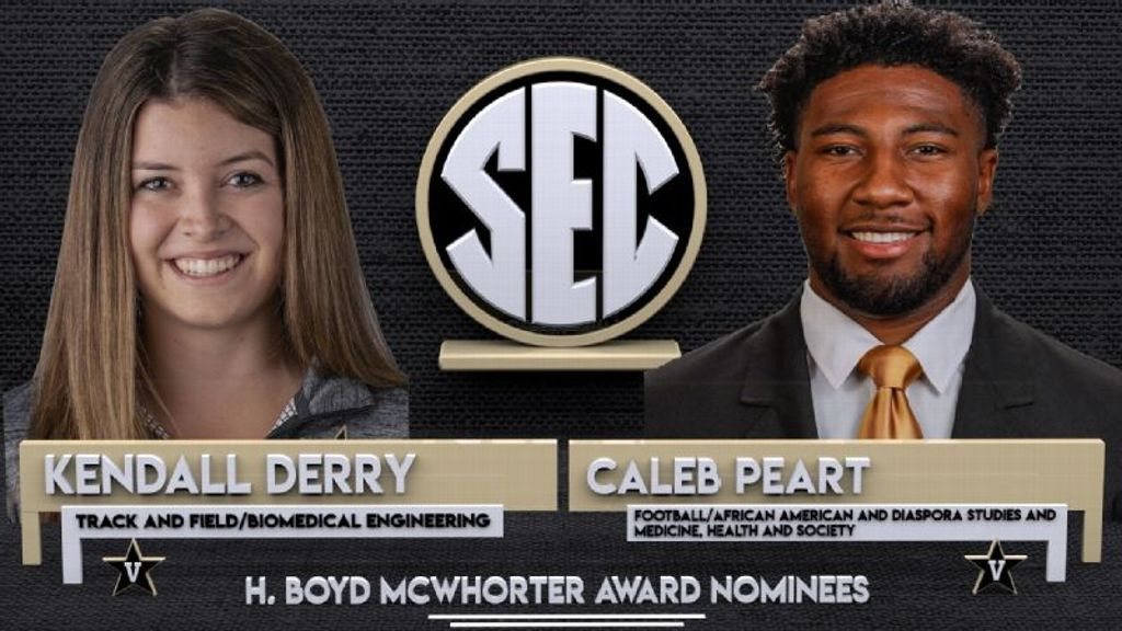 Peart, Derry nominated for McWhorter award