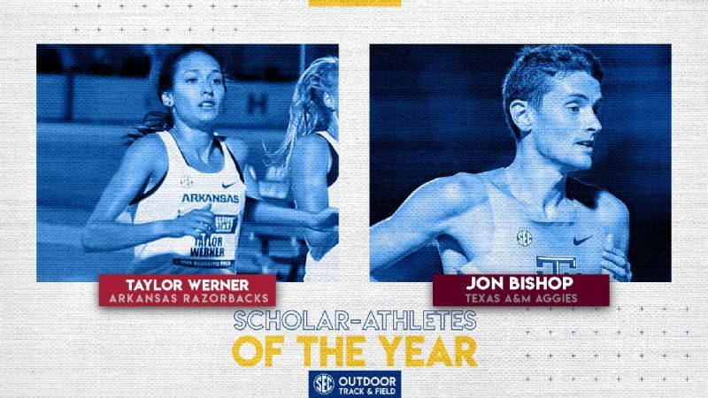 Bishop, Werner named Scholar-Athletes of the Year