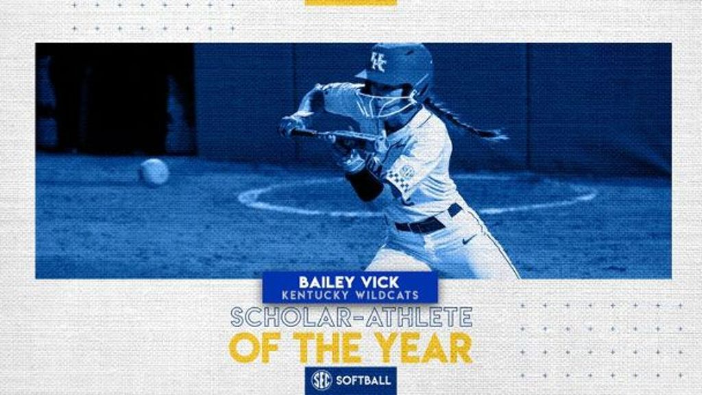 Vick named 2020 softball Scholar-Athlete of the Year