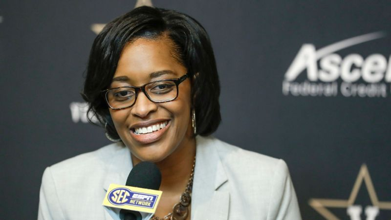 Lee makes history as Vanderbilt's AD