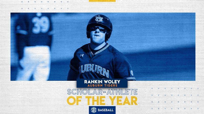 Woley named 2020 baseball Scholar-Athlete of the Year
