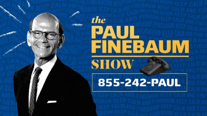 The Paul Finebaum Show returns to on-camera