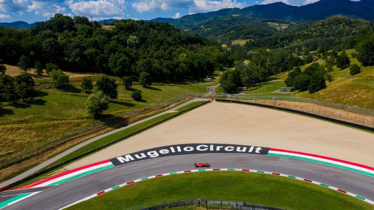 Le Mugello accueillera la première course de F1, Sotchi ajoutée au calendrier 2020
