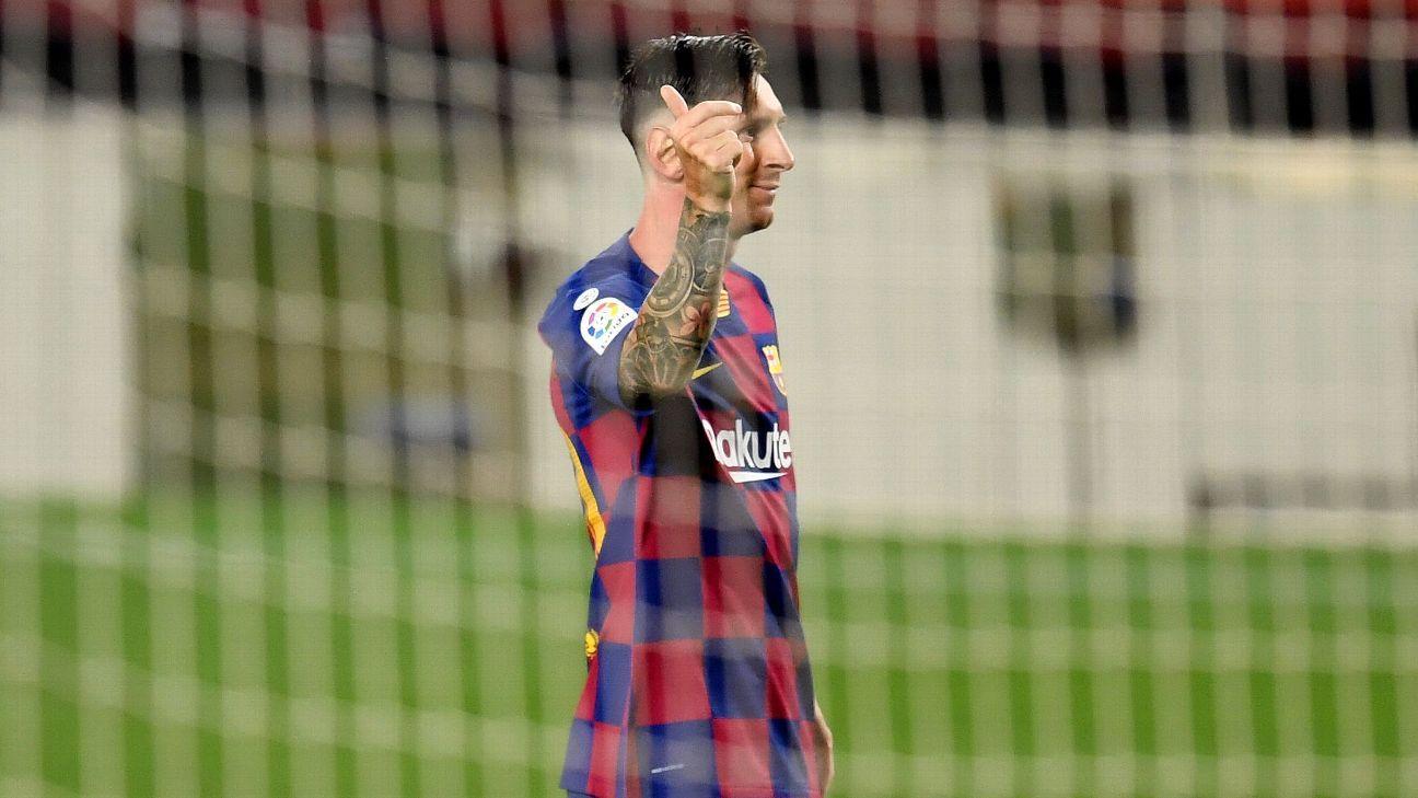 Messi joins Ronaldo, Pele, Puskas, Romario in 700-goal club 2