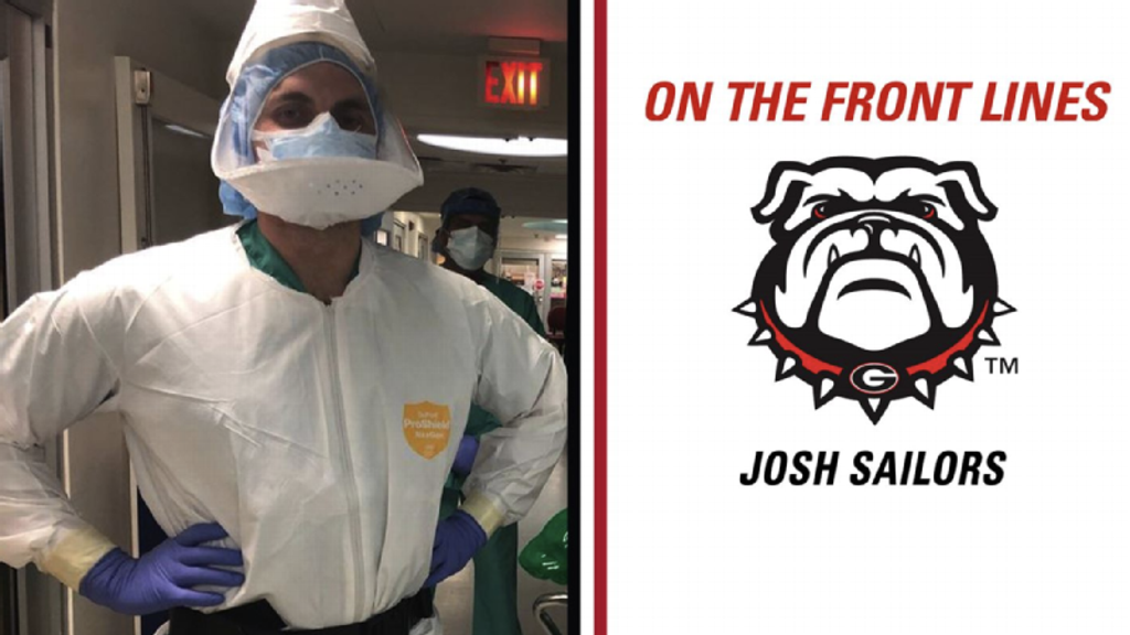 Josh Sailors: fullback to anesthesia