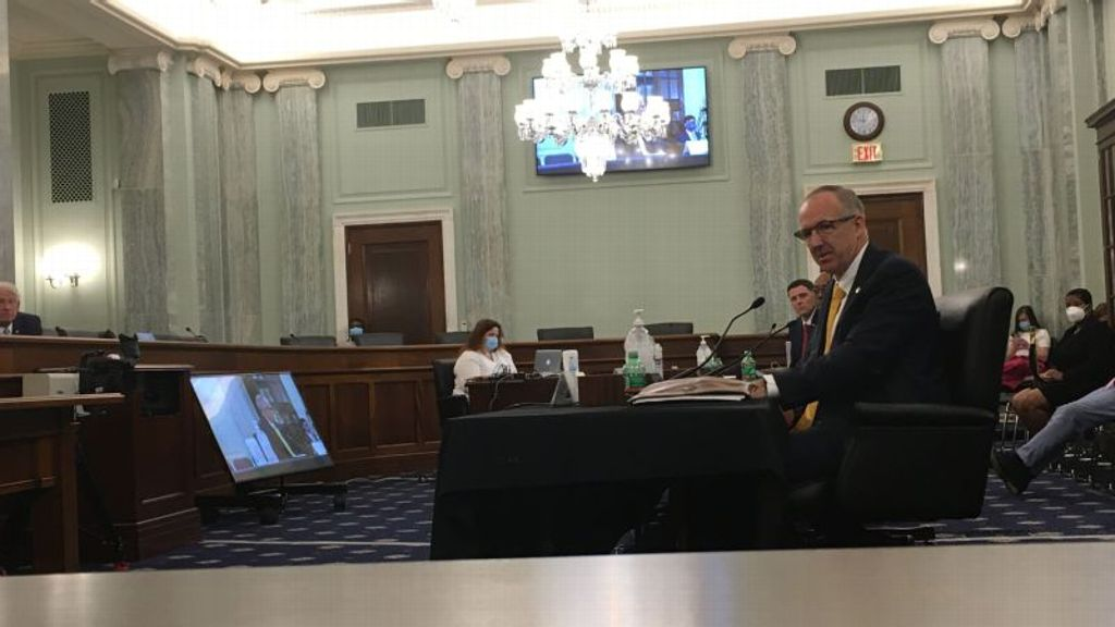Sankey testifies before U.S. Senate committee