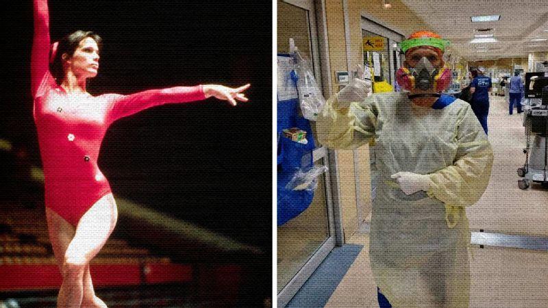 Former UGA gymnast McMinn helps fight against COVID-19
