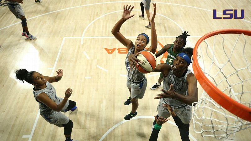 SEC Alumni Roundup: Fowles makes WNBA history