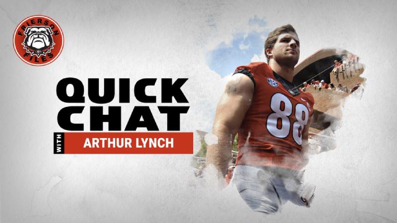 Quick Chat: Arthur Lynch