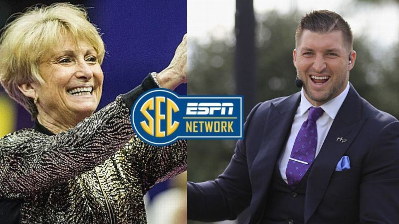 Breaux, Tebow tributes headline SECN programming