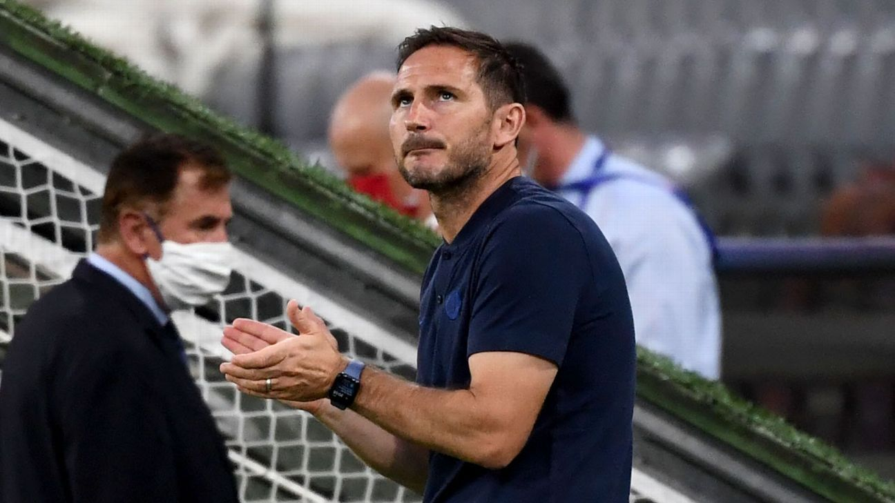 Frank Lampard to look to transfer market after Chelsea's Champions League exit