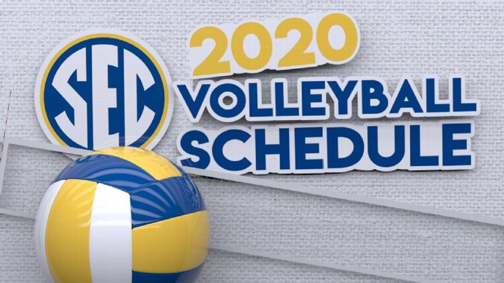 2020 SEC volleyball schedule announced