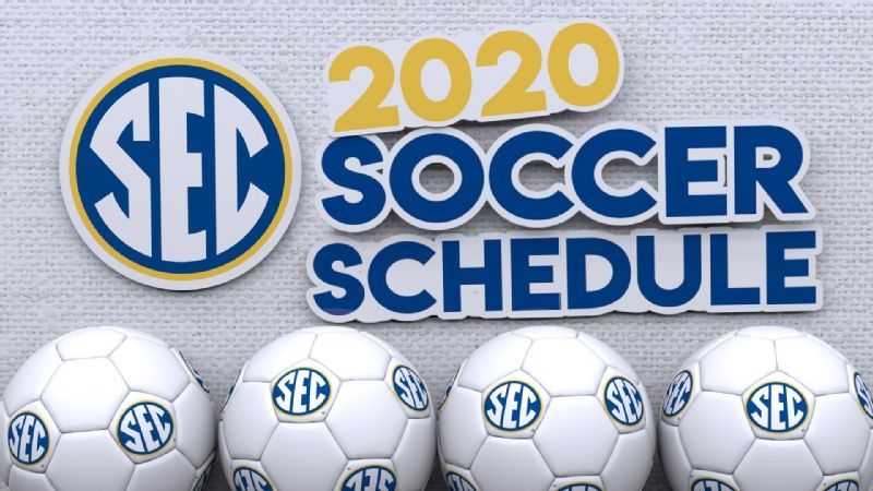 SEC announces updated 2020 soccer schedule