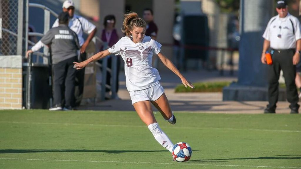 Aggies pull away in season opener vs. Ole Miss
