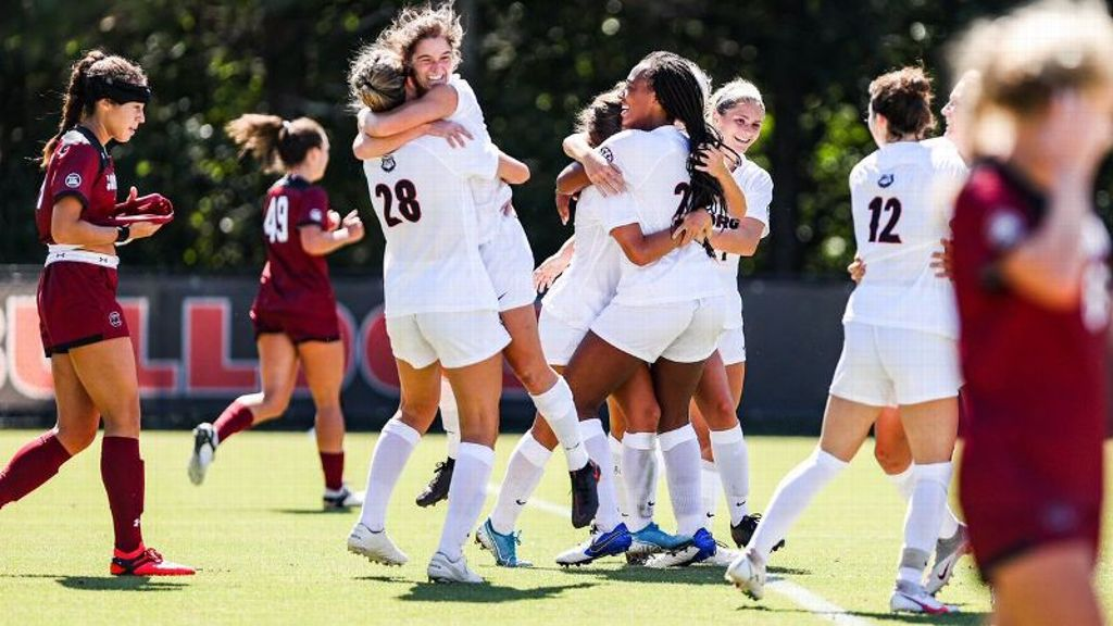 Georgia registers rare soccer win over South Carolina