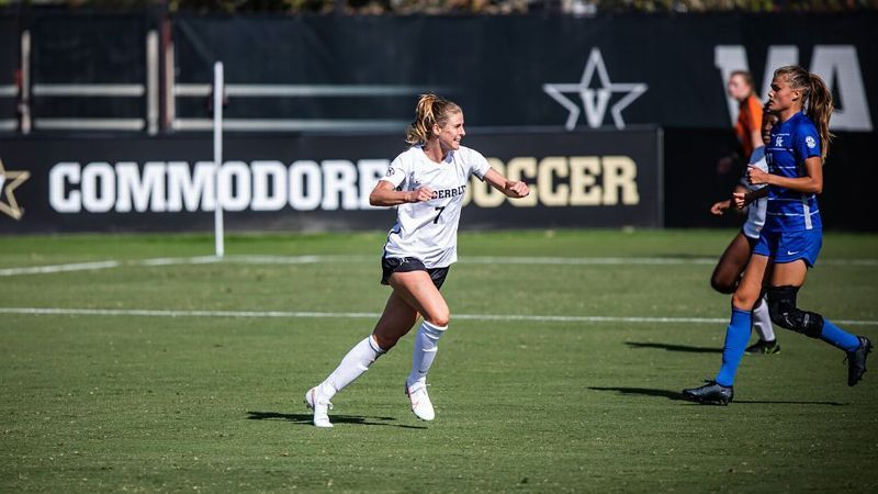 Hopkins' late goal pushes Commodores past Wildcats