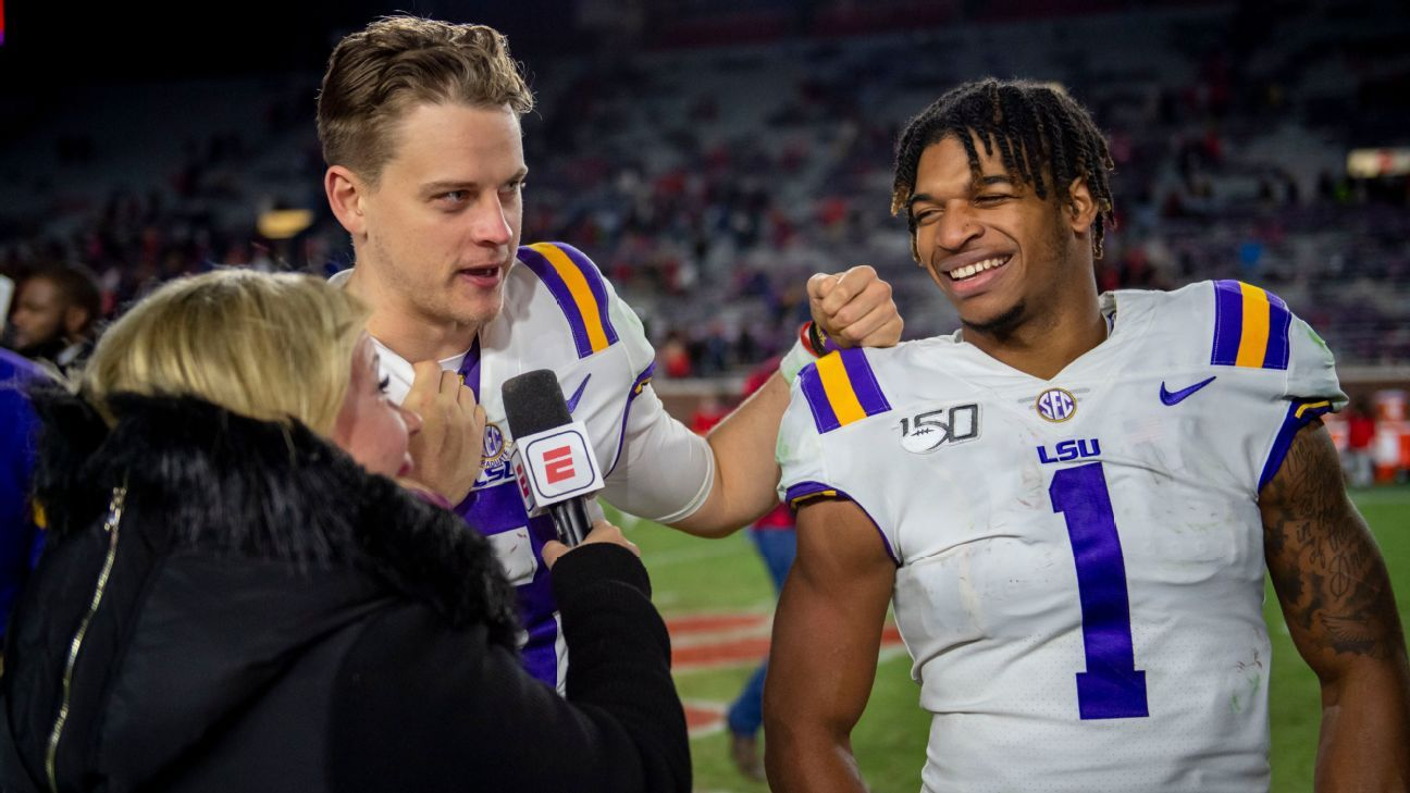 NFL draft 2021 reunites Alabama, LSU and Clemson stars