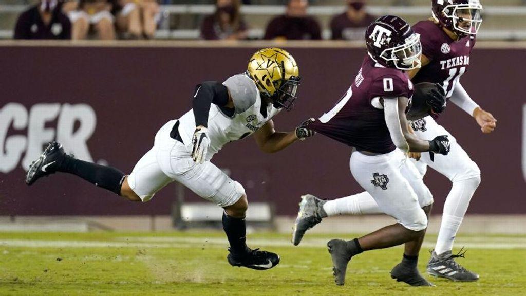 No. 10 Texas A&M survives upset-minded Vanderbilt
